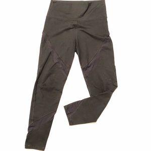 Aerie 3/4 Athletic Leggings Mesh Cutouts Size M
